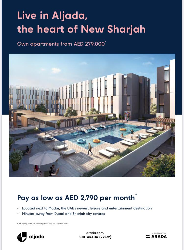 Golden time to live in Aljada, Sharjah – Buy your new Appartment